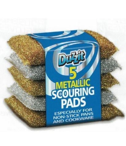Duzzit Scouring Pads 5szt zmywaki do teflonu (24)