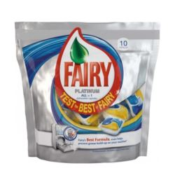 Fairy Platinum do zmyw 10szt Lemon(disp)[GB,PL,RU]