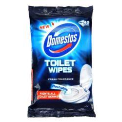 Domestos chusteczki do toalety 40szt