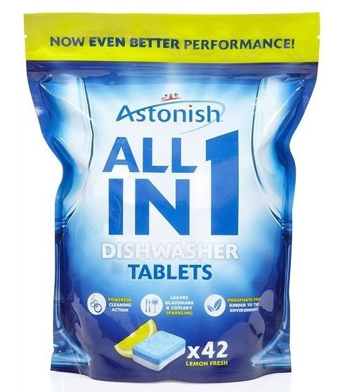 Astonish 5 in1 Dishwasher- tabletki do zmyw. (4)