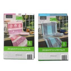 Home Ideas 3szt 50x70 Jacquard Geschirtuch ścierki
