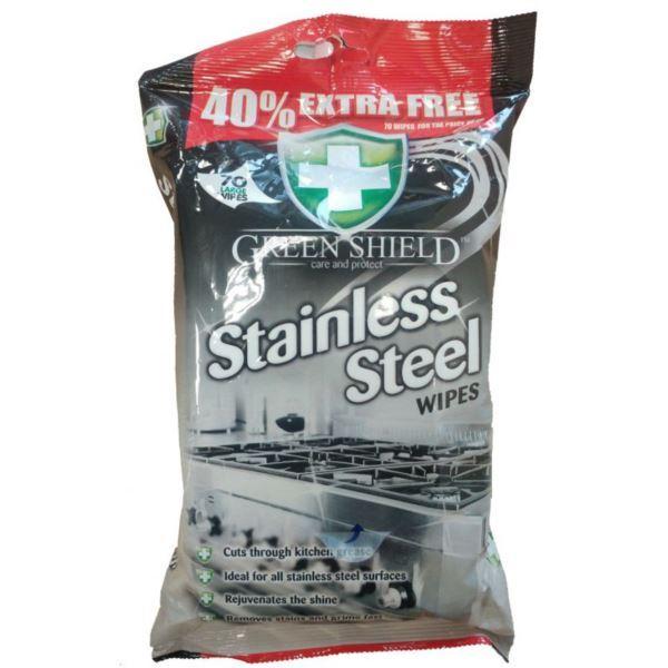 Green Shield chusteczki 70szt Stainless (12)[GB]