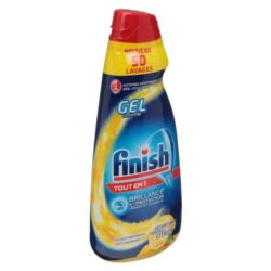 Finish Allin1 MAX 50cykl/ 1L żel do zmywarki(5[NL]