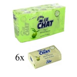 Le Chat 6x100g Olive mydło w kostce (12)[F]