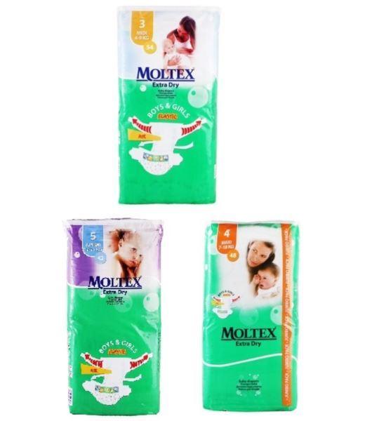 Moltex pieluszki dla dzieci [D,GB,SLO]