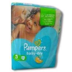 Pampers pieluszki Baby Dry (Disp) [NL,FR]