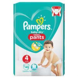 Pampers Pants 40szt/ 9-15kg (4) pieluchomajtki(2)