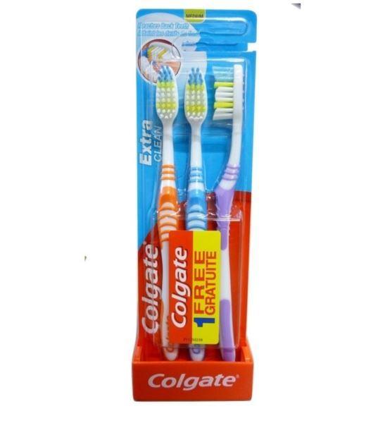 Colgate Extra Clean 3szt Średnia szczoteczka(6)[F]