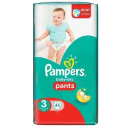 Pampers Pants 44szt/ 6-11kg (3) pieluchomajtki(2)