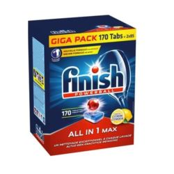 Finish All-In1 MAX 170szt tab. do zmywarki [D,NL]