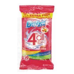 Duzzit 4all chusteczki uniwersalne 50szt (12)[UK]