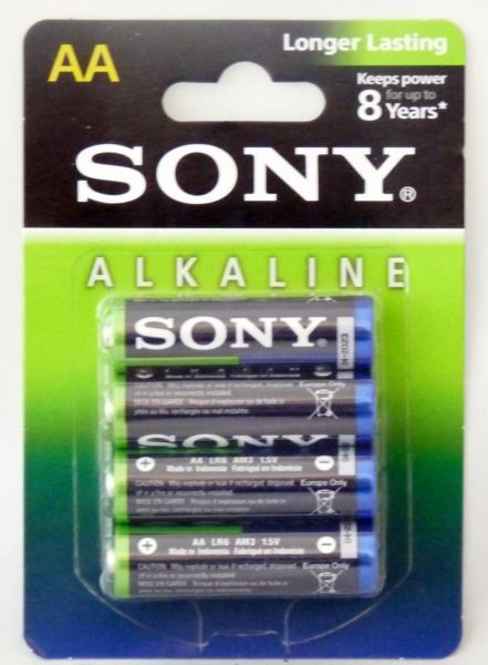Sony baterie alkaiczne blister 4x AA(12)[MULTI]