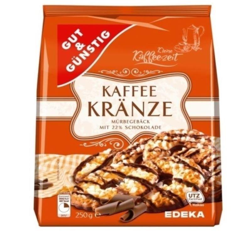 G&G Kaffe Kranze ciastka 250g (10)[D]