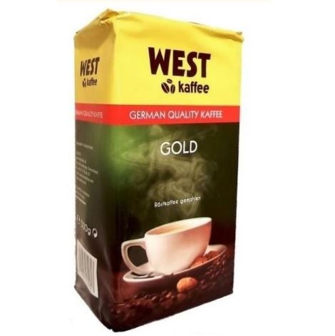 West Kaffee Gold kawa mielona 500g (12)[D]