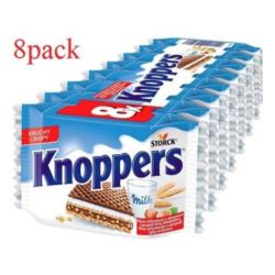 Knoppers 8pack wafelki mleczno-orzechowe(24)[B,NL]
