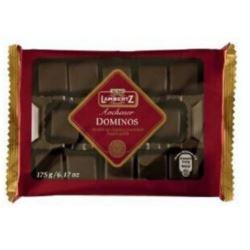 Lambertz 175g Domino w gorzkiej czekoladzie(23)[D]