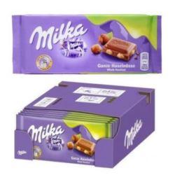 Milka 100g Ganze Haselnuss czekolada (17)[D,GB,CZ]