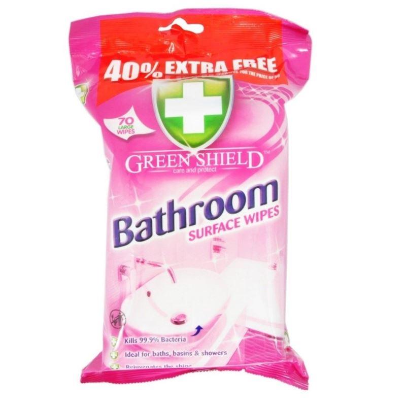 Green Shield chusteczki 70szt róż Bathroom (12)GB]