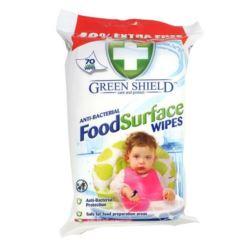 Green Shield chusteczki 70szt biały Food (12)[GB]