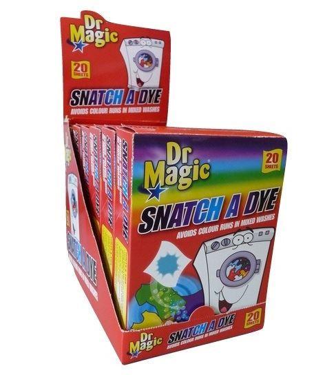 Dr Magic chusteczki wyłapujące kolor 20szt.(12)[GB