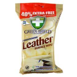 Green Shield chust.70szt biały Leather(12)[GB]