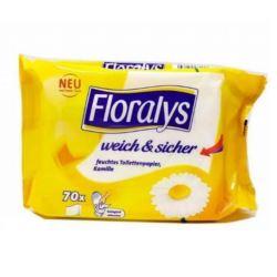Floralys 70szt MIX nawilżany papier toalet (56)[D]