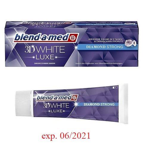 Blend-a-med 75ml 3D White Luxe Diam. Strong(12)[D]