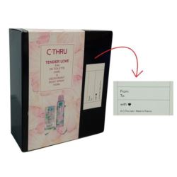 C-Thru EDT 30ml+Deo 150ml Tender Love zestaw (6)