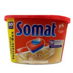 Somat 50szt Gold 12w1 tabletki do zmywarki (d72)D]