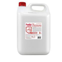Prodax 5L antybakteryjny żel bez użycia wody 70%