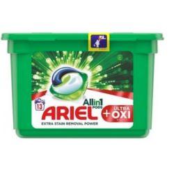 Ariel 3w1 13 szt/364g Ultra Oxi kapsułki (6)[RO]