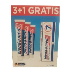 Blend-a-med Complete7 3x75ml+1x75ml GRATIS (12)[D]