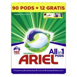 Ariel 102szt (3x34szt) 3w1 kapsułki [D,AT]