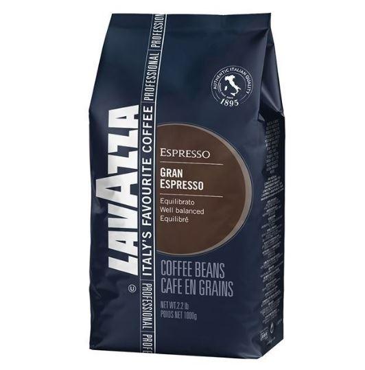 Lavazza Espresso GRAN ESPRESSO ziarno 1kg (6)[IT]