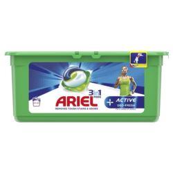 Ariel 32szt 3w1 Univ Acitv+ kapsułki (3)[ES]