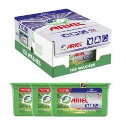 Ariel 3w1 3x35szt 105szt kapsułki [GR,MD]