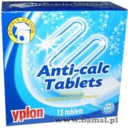 Tabletki przeciw osadzaniu się kamienia YPLON 15sz