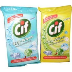 Chusteczki czyszczące CIF Wipes 60szt